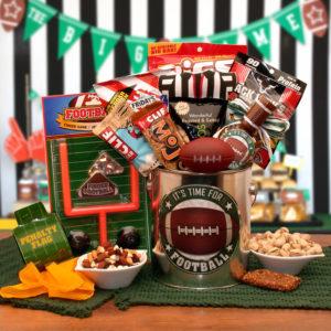 Football Time Gift Basket