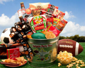 Sports Tail Gate Gift Basket