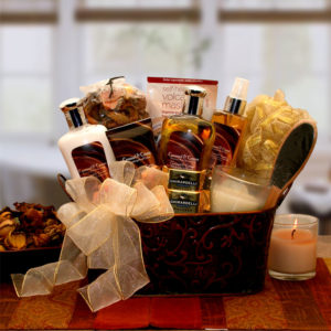 Gifts for Women Caramel Creame Gift Basket