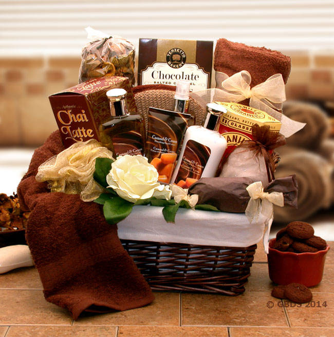 aacee01b Caramel Indulgence Spa Relaxation Hamper