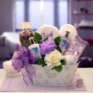 e7a90b0e Lavender Relaxation Spa Gift Basket - ManCaveStyle
