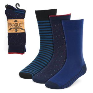 Men's Fancy Blue Socks